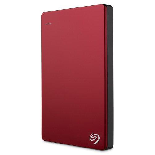 Seagate Backup Plus Slim Portable Drive - 1TB - Red