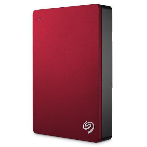 Seagate Backup Plus Portable Drive - 4TB - Red