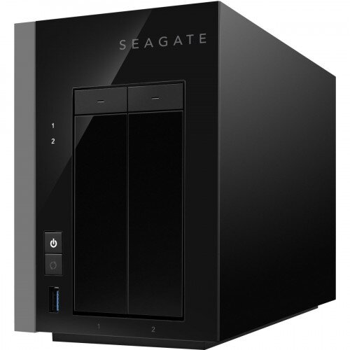 Seagate WSS NAS 2-Bay Network Attached Storage - 4TB