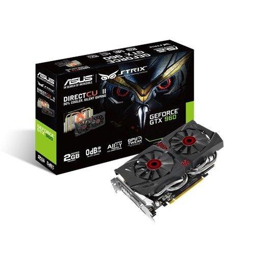 ASUS Strix GeForce GTX 960 2GB GDDR5 Graphics Card