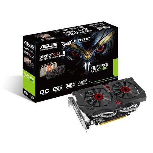 ASUS Strix GeForce GTX 960 Graphic Card - GDDR5 2GB