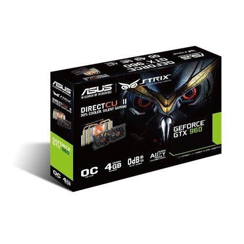 ASUS Strix GeForce GTX 960 Graphic Card - GDDR5 4GB