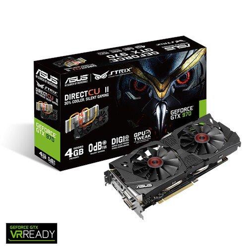 ASUS Strix GeForce GTX 970 4GB GDDR5 Graphic Card