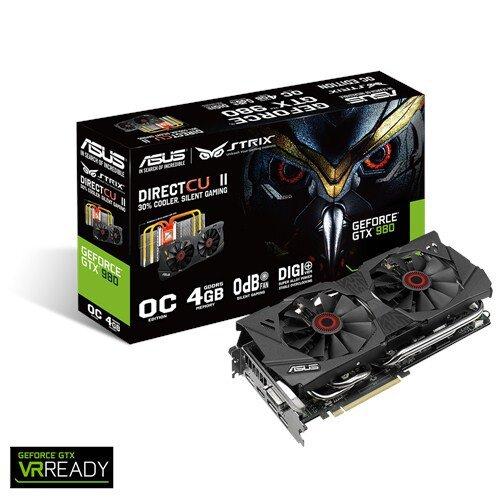 ASUS Strix GeForce GTX 980 Graphic Card