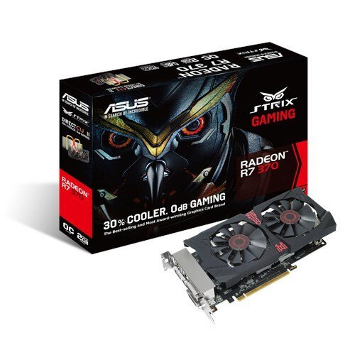 ASUS Strix R7 370 Gaming Graphics Card - GDDR5 2GB
