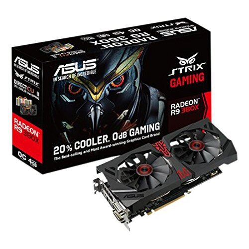 ASUS Strix R9 380X OC Edition Gaming Graphics Card
