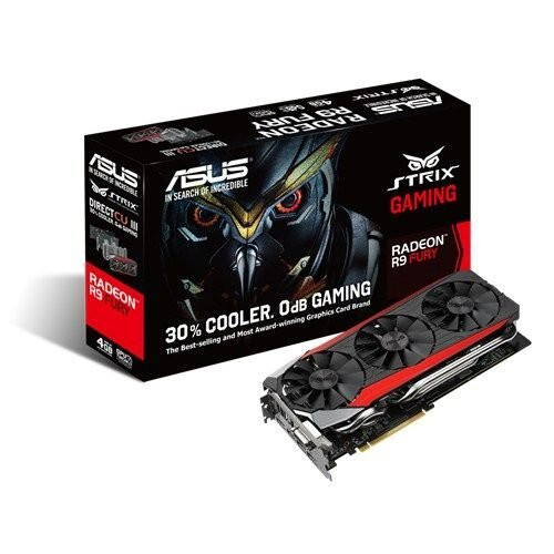 ASUS Strix R9 Fury Gaming Graphics Card
