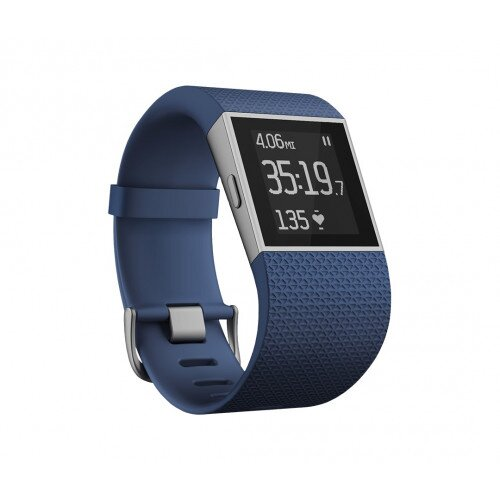 Fitbit Surge GPS Activity Tracking Watch - Blue - Large