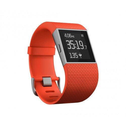 Fitbit Surge GPS Activity Tracking Watch - Tangerine - Small