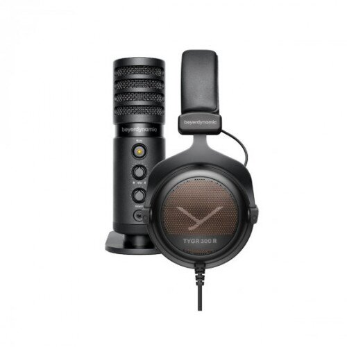 beyerdynamic TEAM TYGR 300 R Gaming Headphones and FOX USB Studio Microphone