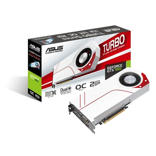ASUS Turbo GeForce GTX 960 Graphic Card - GDDR5 2GB