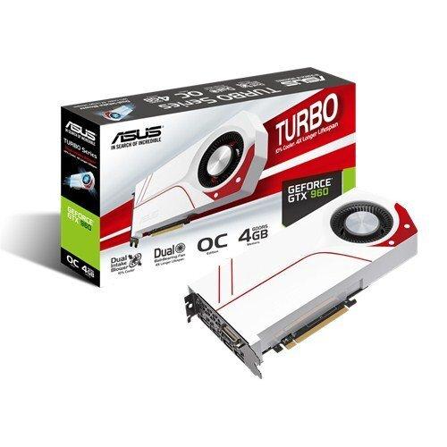 ASUS Turbo GeForce GTX 960 Graphic Card - GDDR5 4GB