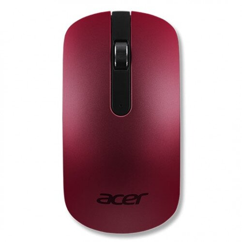 Acer Ultra Slim Optical Mouse AMR820 - Lava Red
