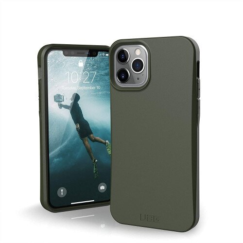 Urban Armor Gear Biodegradable Outback for iPhone 11 Pro Max Case - Olive