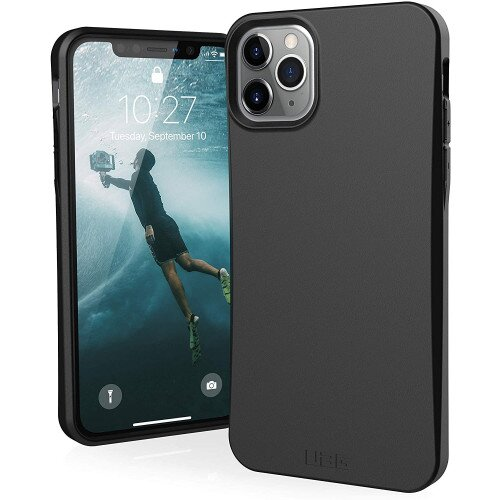Urban Armor Gear Biodegradable Outback for iPhone 11 Pro Max Case - Black