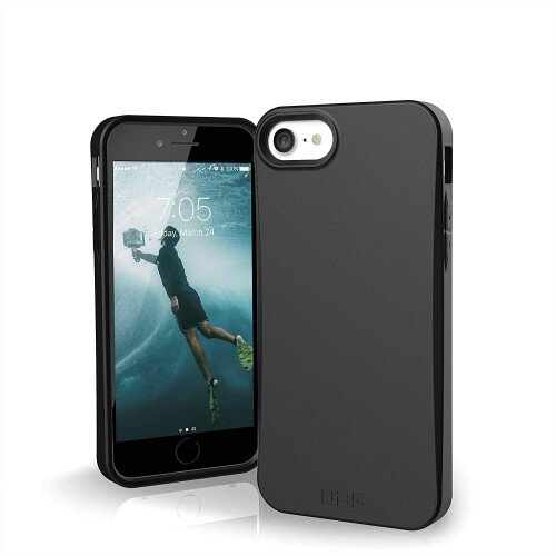 Urban Armor Gear Biodegradable Outback Series for iPhone SE Case (2020) - Black