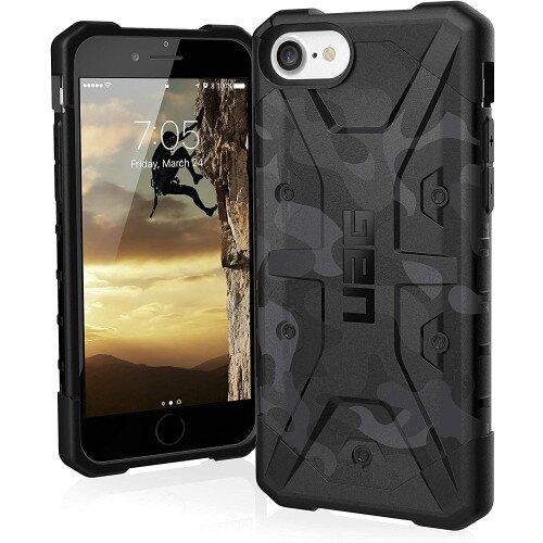 Urban Armor Gear Pathfinder SE Series for iPhone SE Case (2020) - Black Midnight Camo