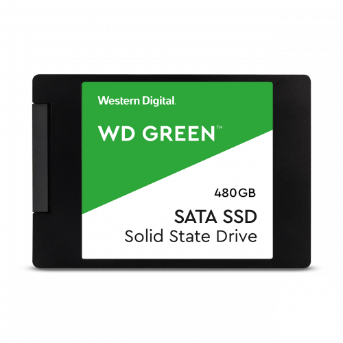 WD Green PC SSD - 2.5 in - 480GB