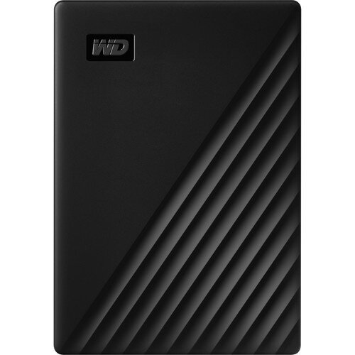 WD My Passport Portable External Hard Drive - 2TB - Black