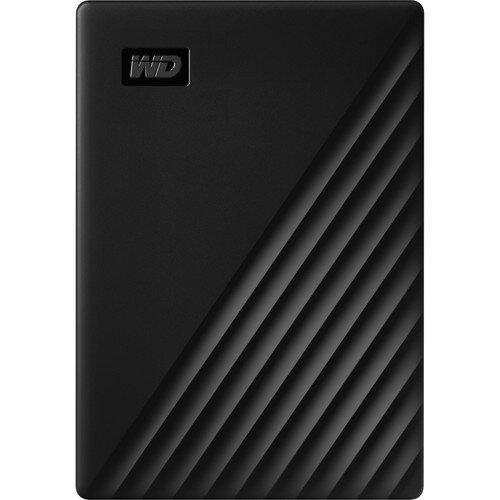 WD My Passport Portable External Hard Drive - 4TB - Black