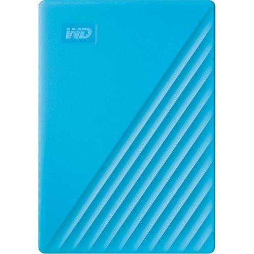 WD My Passport Portable External Hard Drive - 4TB - Sky