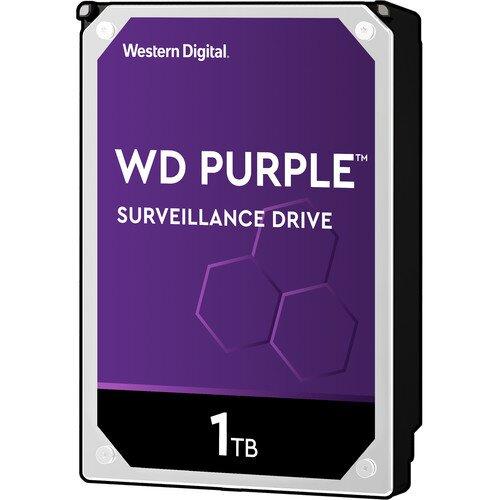 WD Purple Surveillance Internal Hard Drive - 1TB - 5400RPM - 64MB