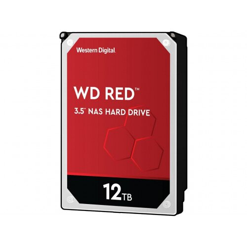 WD Red NAS Internal Hard Drive - 3.5 inches - 256MB - 12TB