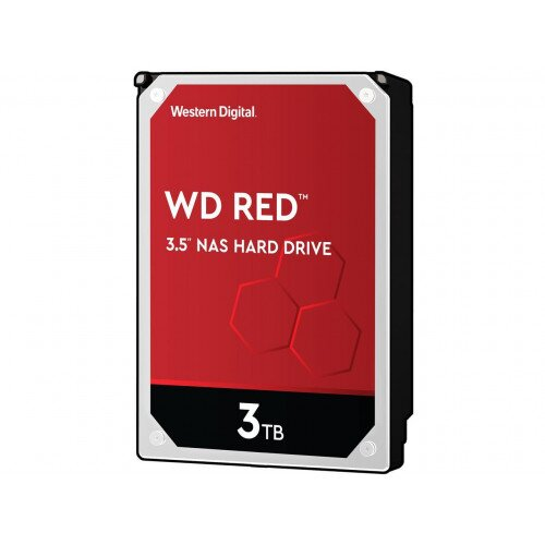 WD Red NAS Internal Hard Drive - 3.5 inches - 64MB - 3TB