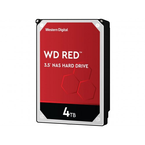 WD Red NAS Internal Hard Drive - 3.5 inches - 64MB - 4TB