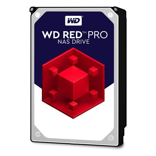 WD Red Pro NAS Internal Hard Drive - 64MB - 4TB