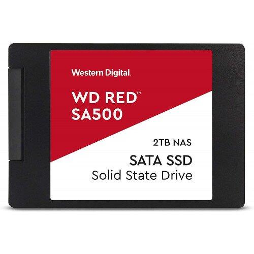 WD Red SA500 NAS SATA SSD - 2.5 in - 2TB