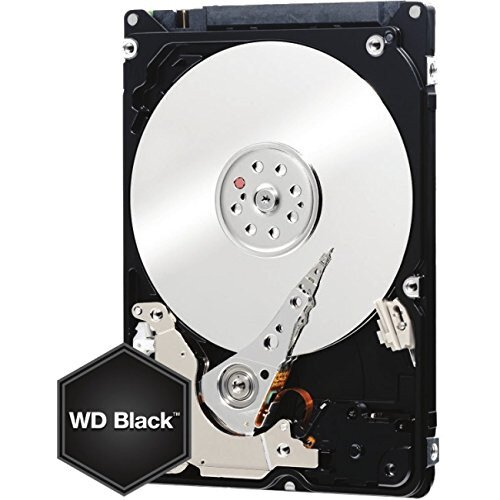 WD Black Mobile Internal Hard Drive - 160GB