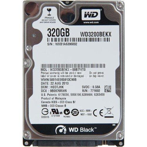 WD Black Mobile Internal Hard Drive - 320GB