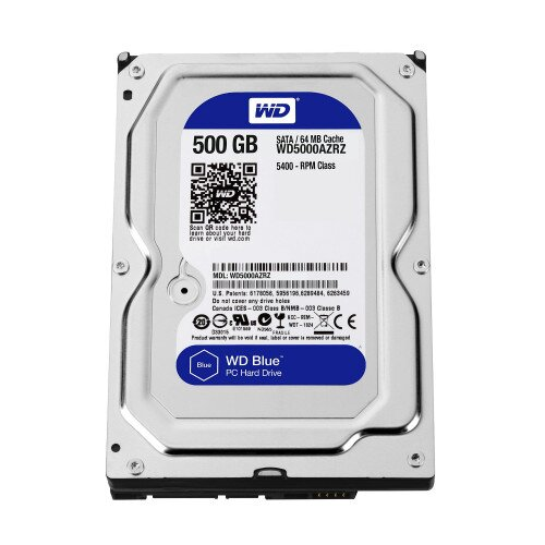 WD Blue Desktop Internal Hard Drive - 500GB - 7200 RPM