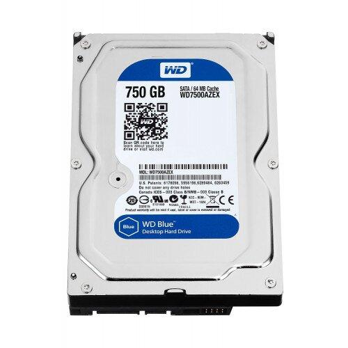 WD Blue Desktop Internal Hard Drive - 750GB - 7200 RPM