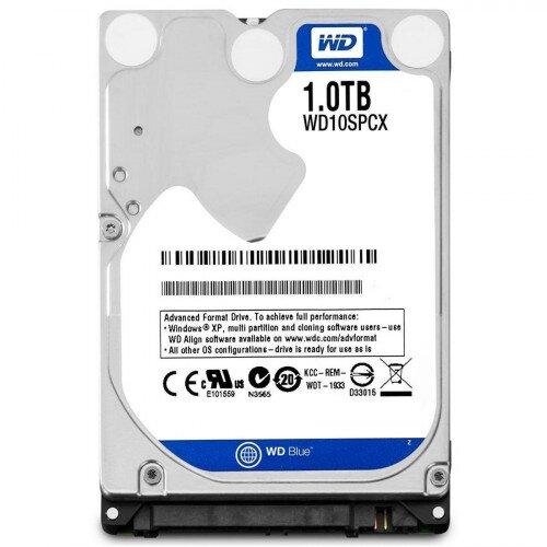 WD Blue Mobile Internal Hard Drive - 1TB - 5400 RPM