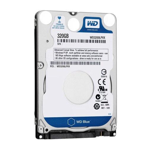 WD Blue Mobile Internal Hard Drive - 320GB - 5400 RPM