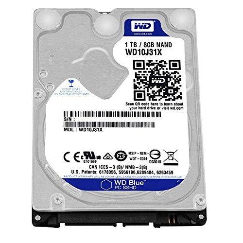 WD Blue SSHD Mobile Internal Hard Drive
