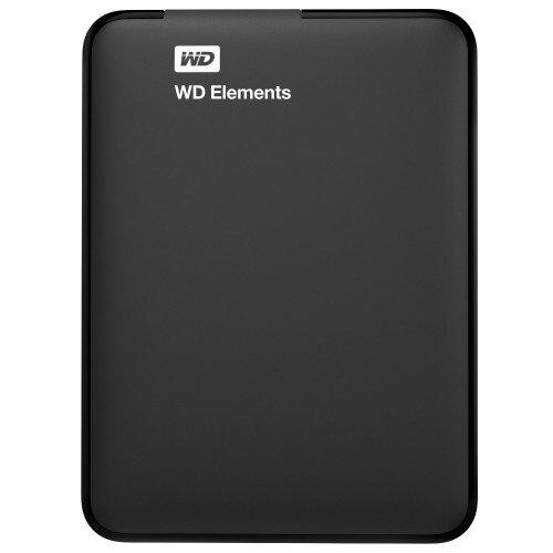 WD Elements Portable External Hard Drive - 1TB