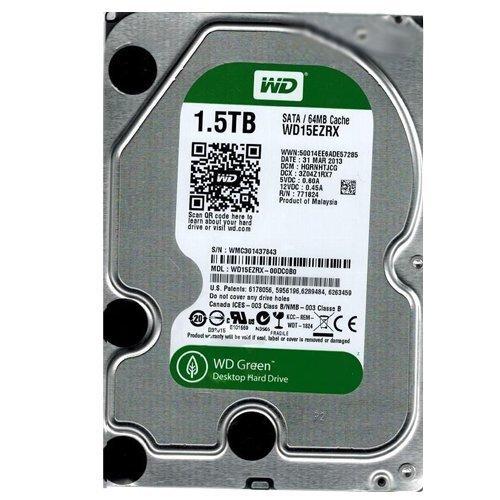 WD Green Desktop Internal Hard Drive - 1.5TB