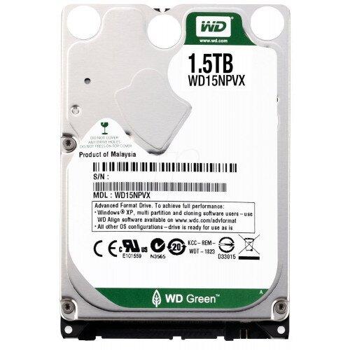 WD Green Mobile Internal Hard Drive - 1.5TB