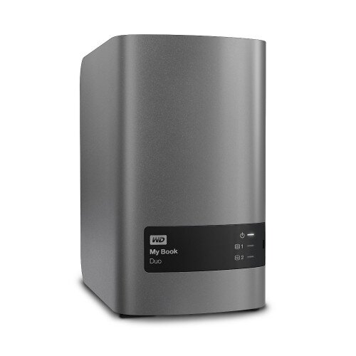WD My Book Duo External Hard Drive - 4TB