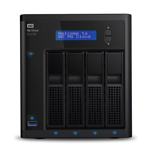 WD My Cloud DL4100 Network Attached Storage - 24TB