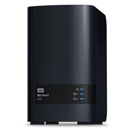 WD My Cloud EX2 Private Cloud Storage - 12TB