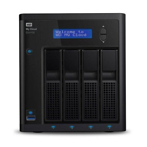 WD My Cloud EX4 Private Cloud Storage - Diskless