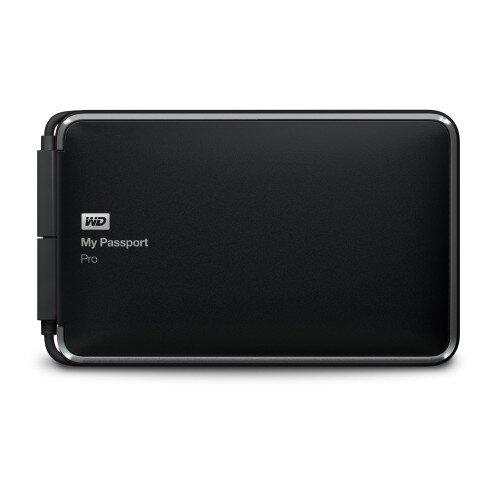 WD My Passport Pro Portable External Hard Drive - 4TB