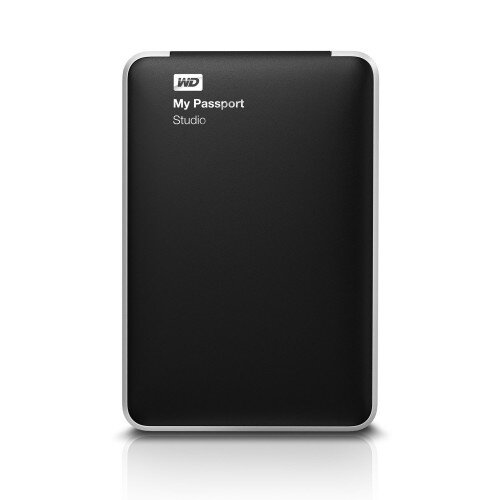 WD My Passport Studio Portable External Hard Drive - 1TB