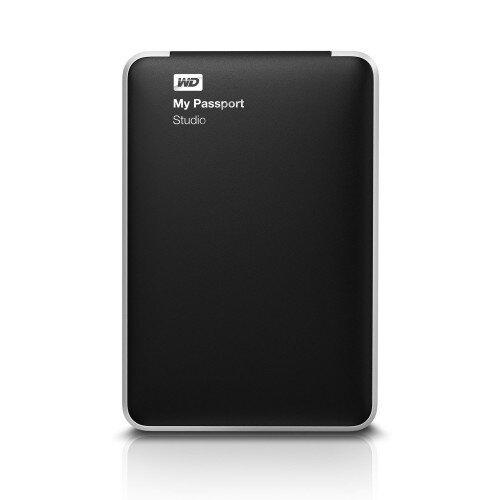 WD My Passport Studio Portable External Hard Drive - 2TB