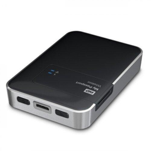 WD My Passport Wireless Portable External Hard Drive - 2TB
