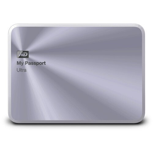 WD My Passport Ultra Metal Edition Portable External Hard Drive